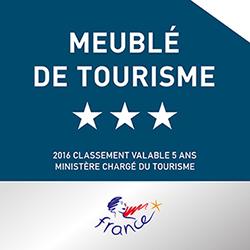 gîte classé meublé de tourisme 3 étoiles